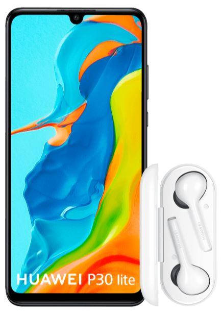 Huawei P30 Lite met gratis Huawei Freebuds