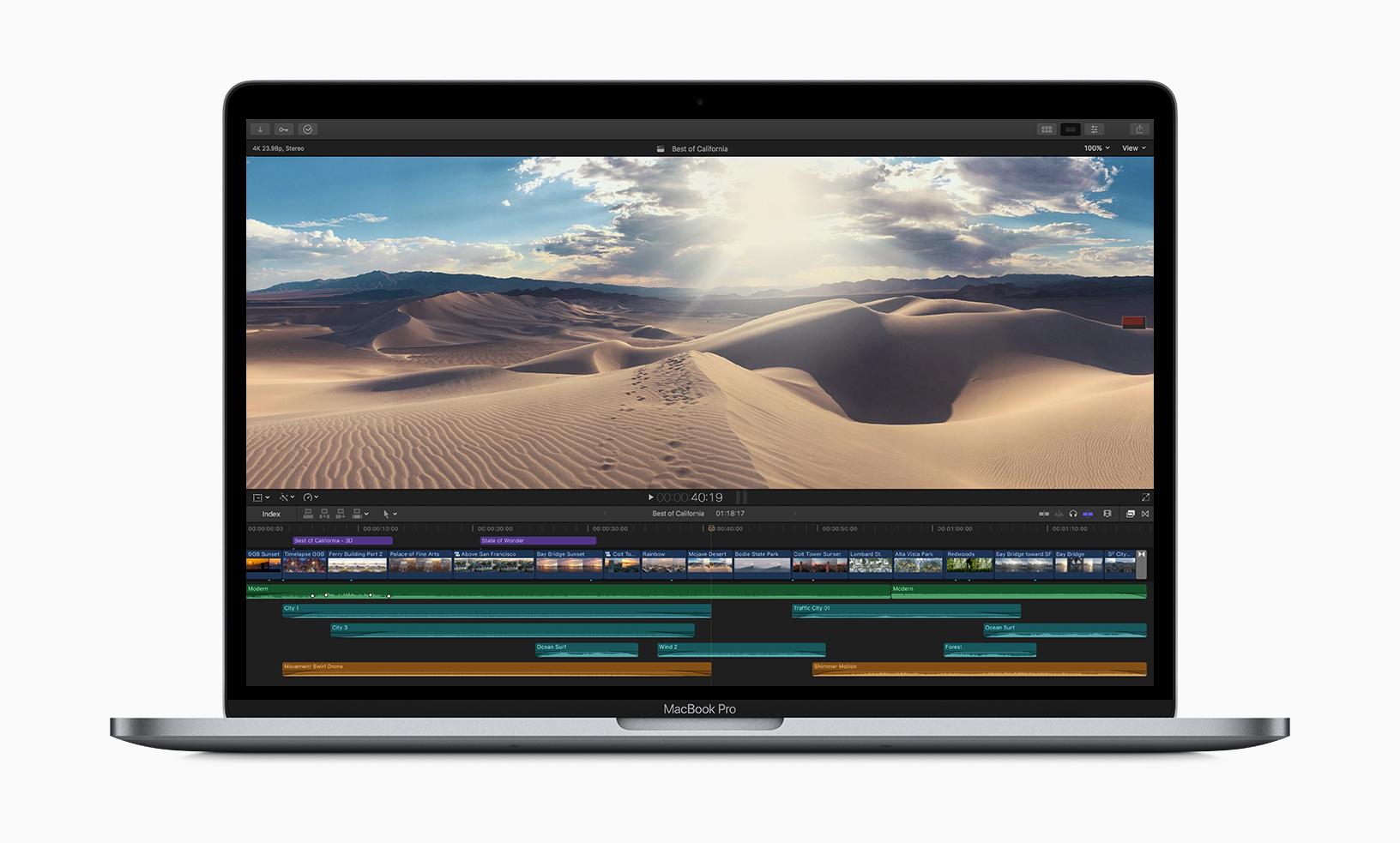 Nieuwe MacBook pro 2019