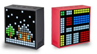 AliExpress speaker pixel art