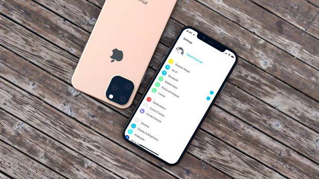 Apple iPhone 11 smartphone renders