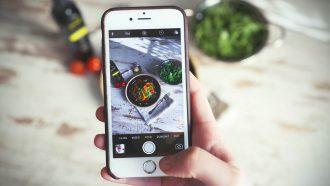 iPhone voedsel