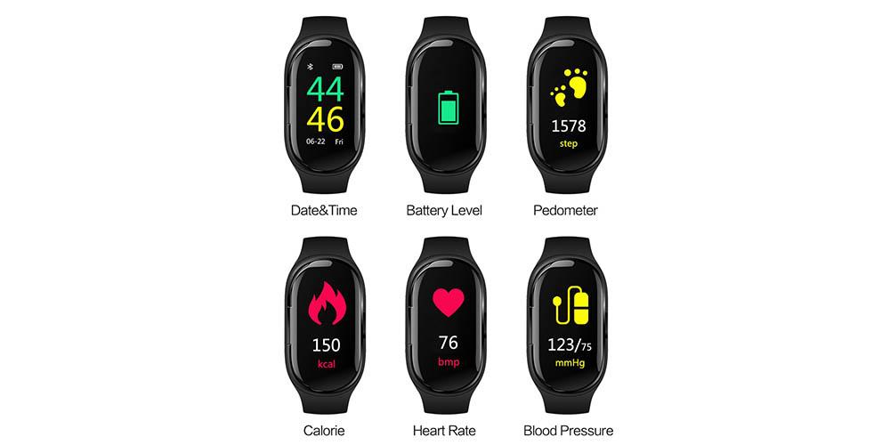 AliExpress smartwatch met oordopjes