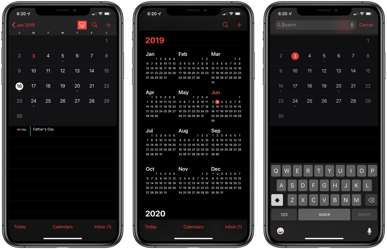 Dark Mode voor Apple iPhone
