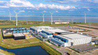 Nieuw datacentrum van Google in Nederland