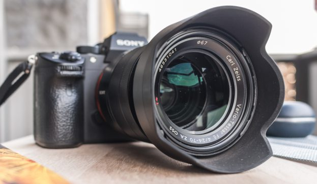 Sony A7 Mark III review lens