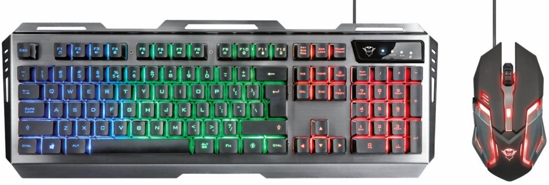 Trust Gaming toetsenbord en muis GXT 845 Tural bol