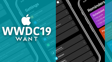 WWDC19 Apple iOS 13 Dark Mode