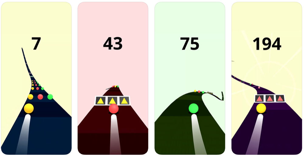 Color Road App Store games
