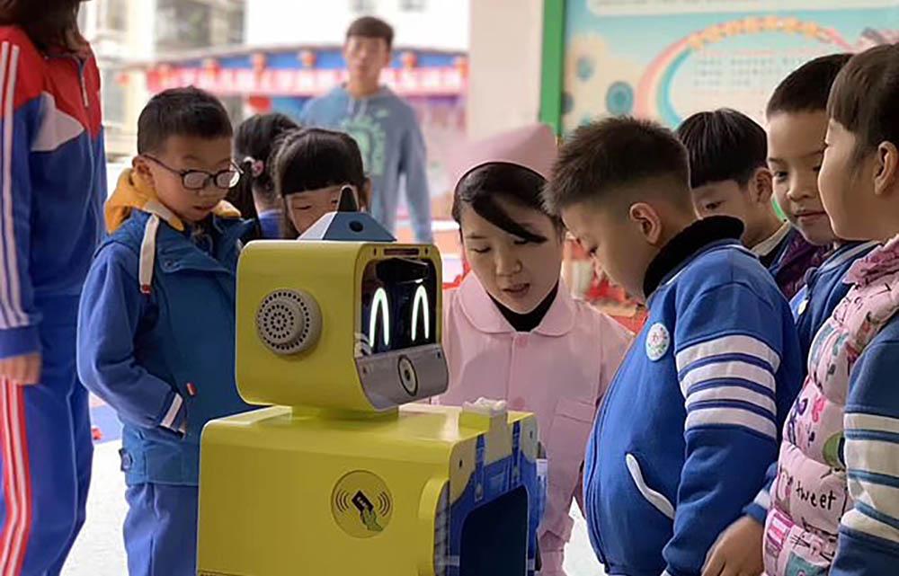 Walklake robot kinderen China