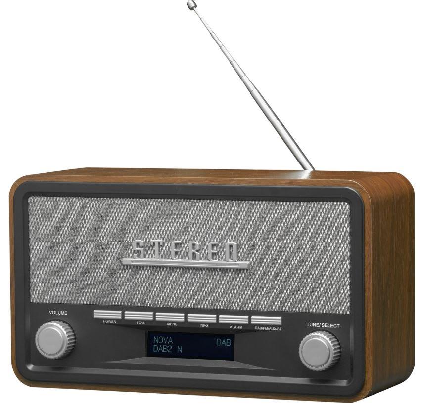 Denver DAB18 radio met Bluetooth-functie bij Bol.com