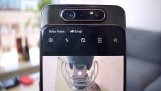 Samsung Galaxy A80 videoreview uitgelicht