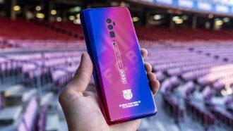 Oppo Reno FC Barcelona Edition uitgelicht
