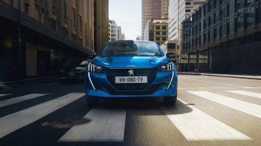 Peugeot elektrische rijden