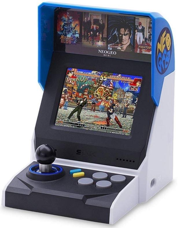 SNK Neo Geo Mini HD International spelcomputer