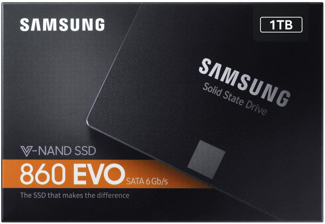 Samsung 860 EVO 1TB SSD bij Coolblue