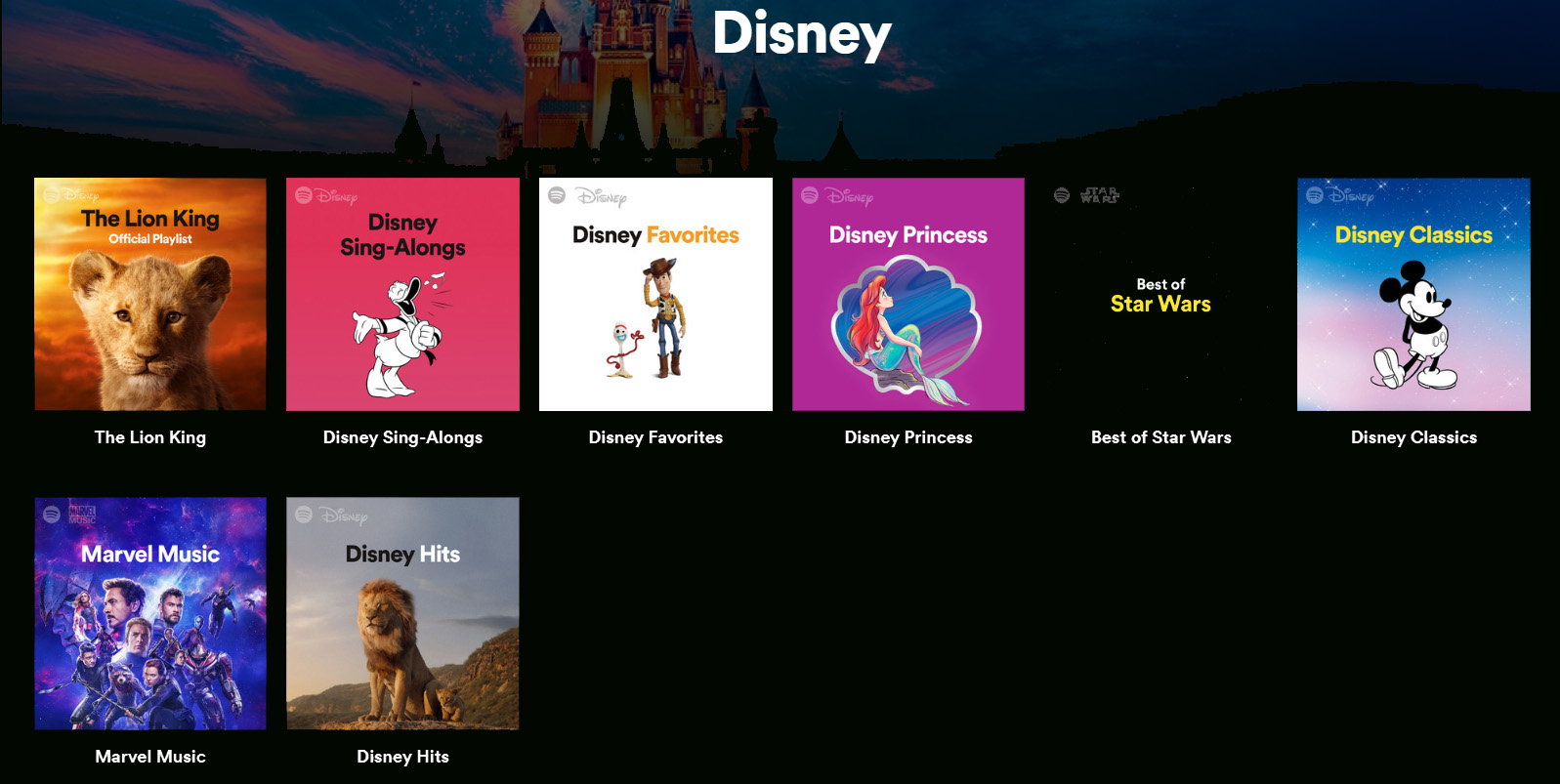 Spotify Disney 3