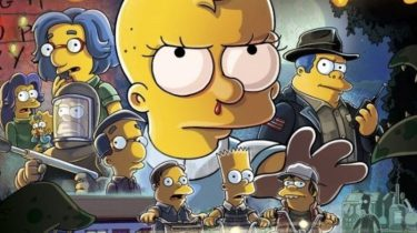 The Simpsons Stranger Things 2