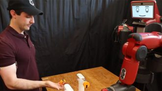 Bottle Cap Challenge robot MIT