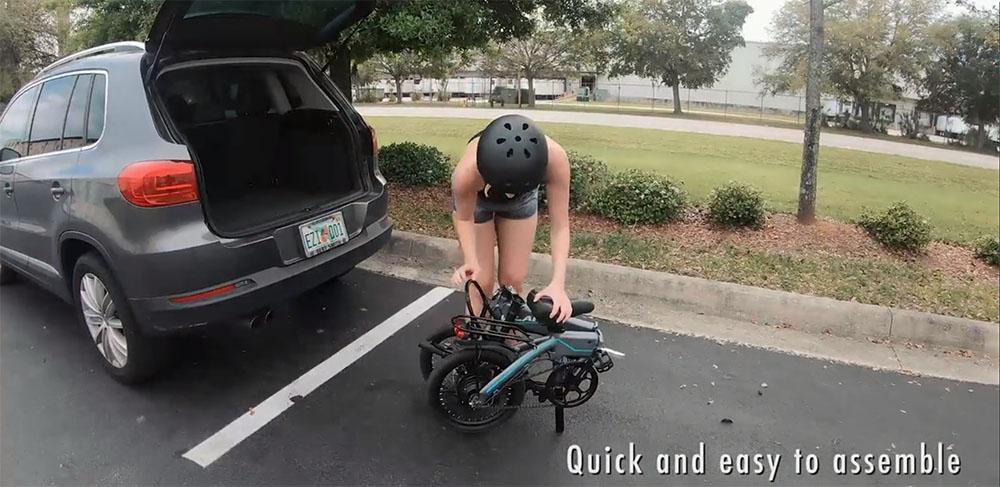 elektrische fiets Vilano Quark