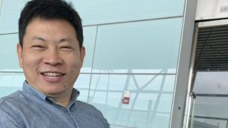 Huawei CEO Mate X