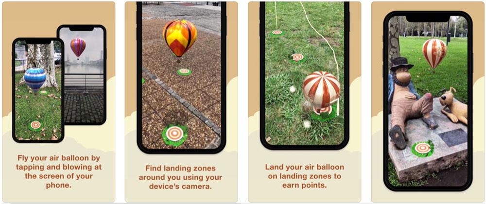 Pocket Balloon iOS games