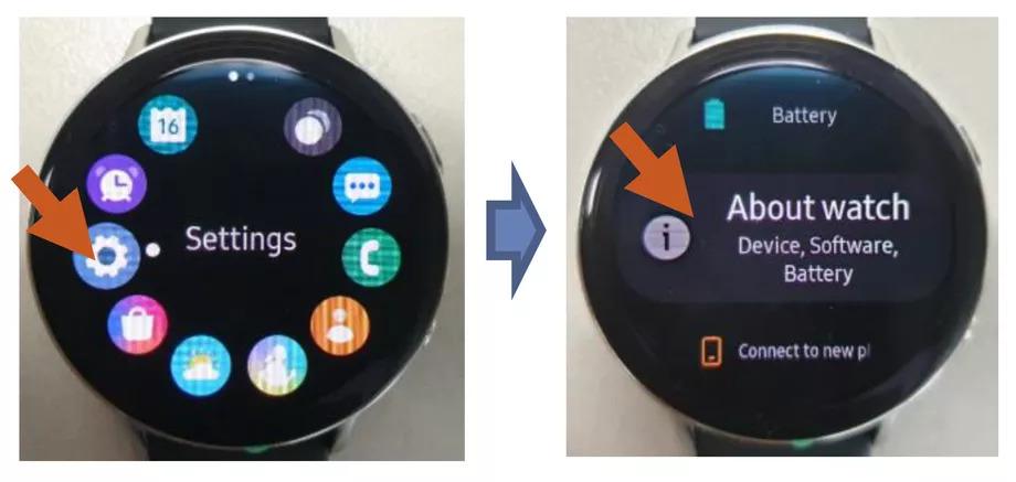 Samsung Galaxy Watch Active FCC