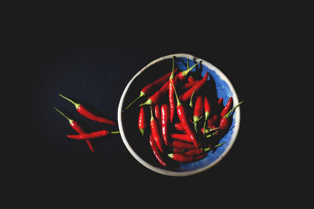 Spaanse chili peper NASA
