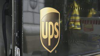 UPS TuSimple autonoom vrachtwagen