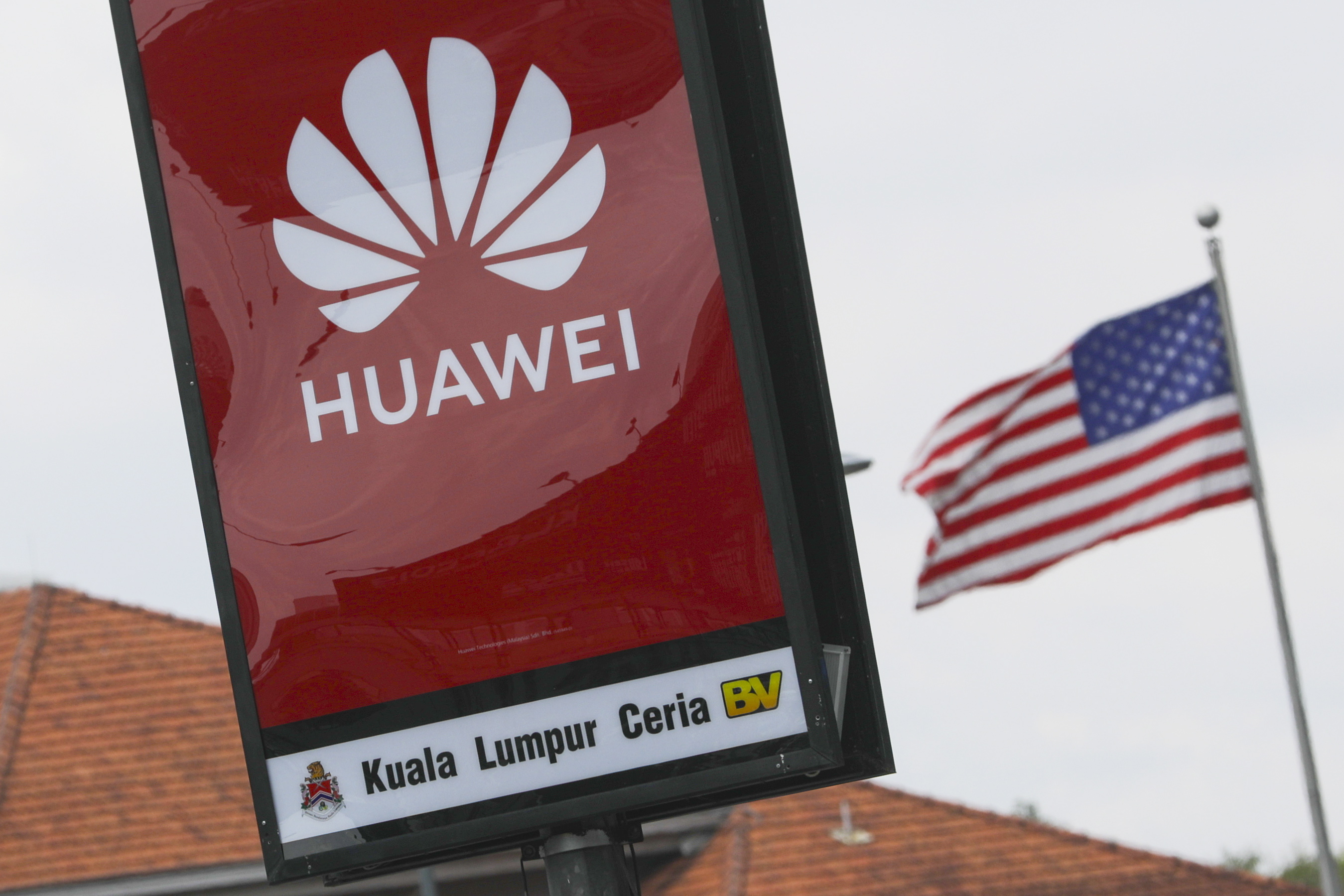 USA Huawei VS licentie Donald Trump