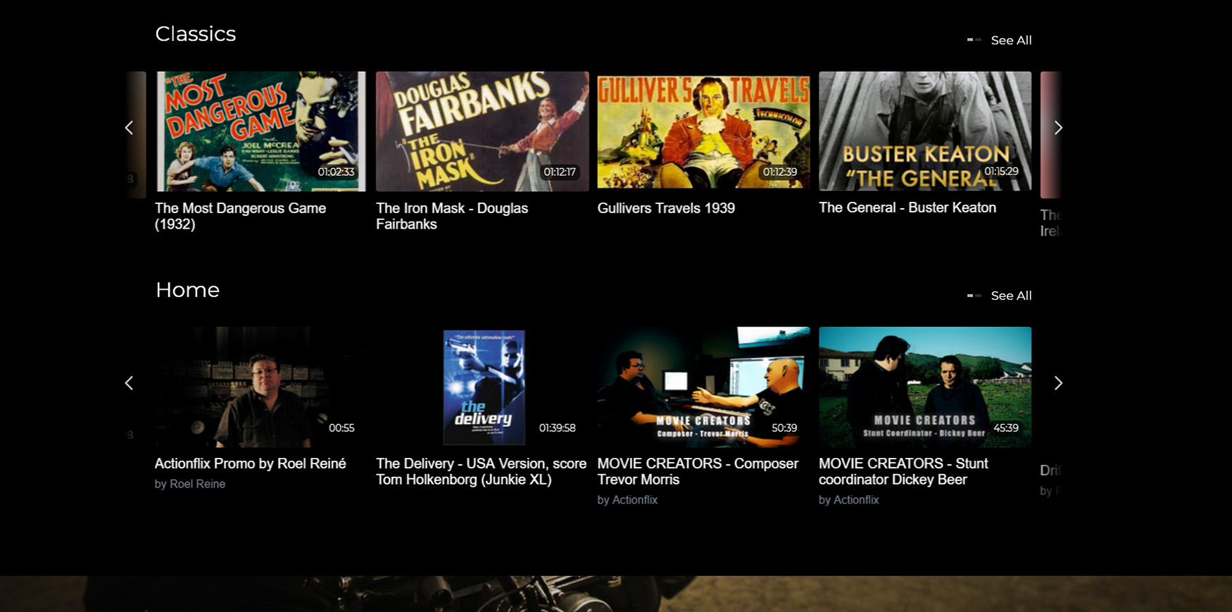 ActionFlix Netflix
