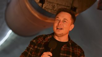 Elon Musk over A.i.