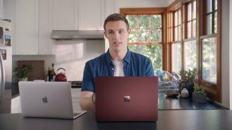 Microsoft Apple campagne Mac Book