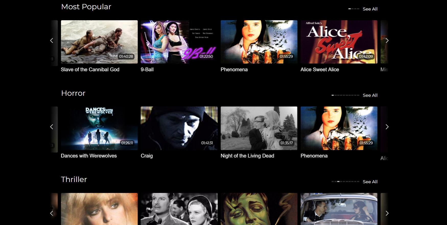 Netflix ThrillFlix