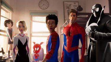 Spider-Man Into The Spider-Verse Netflix