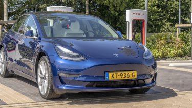 Tesla Model 3 review supercharger elektrische auto