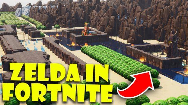 The LEgend of Zelda Fortnite