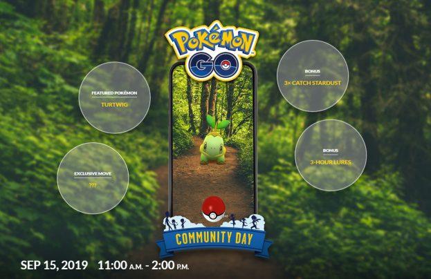 Turtwig Pokémon Go
