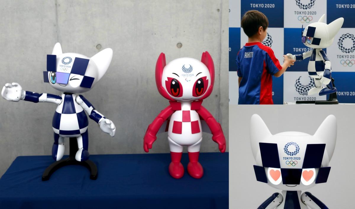 tokyo 2020, olympische spelen, japan, robots, tokio