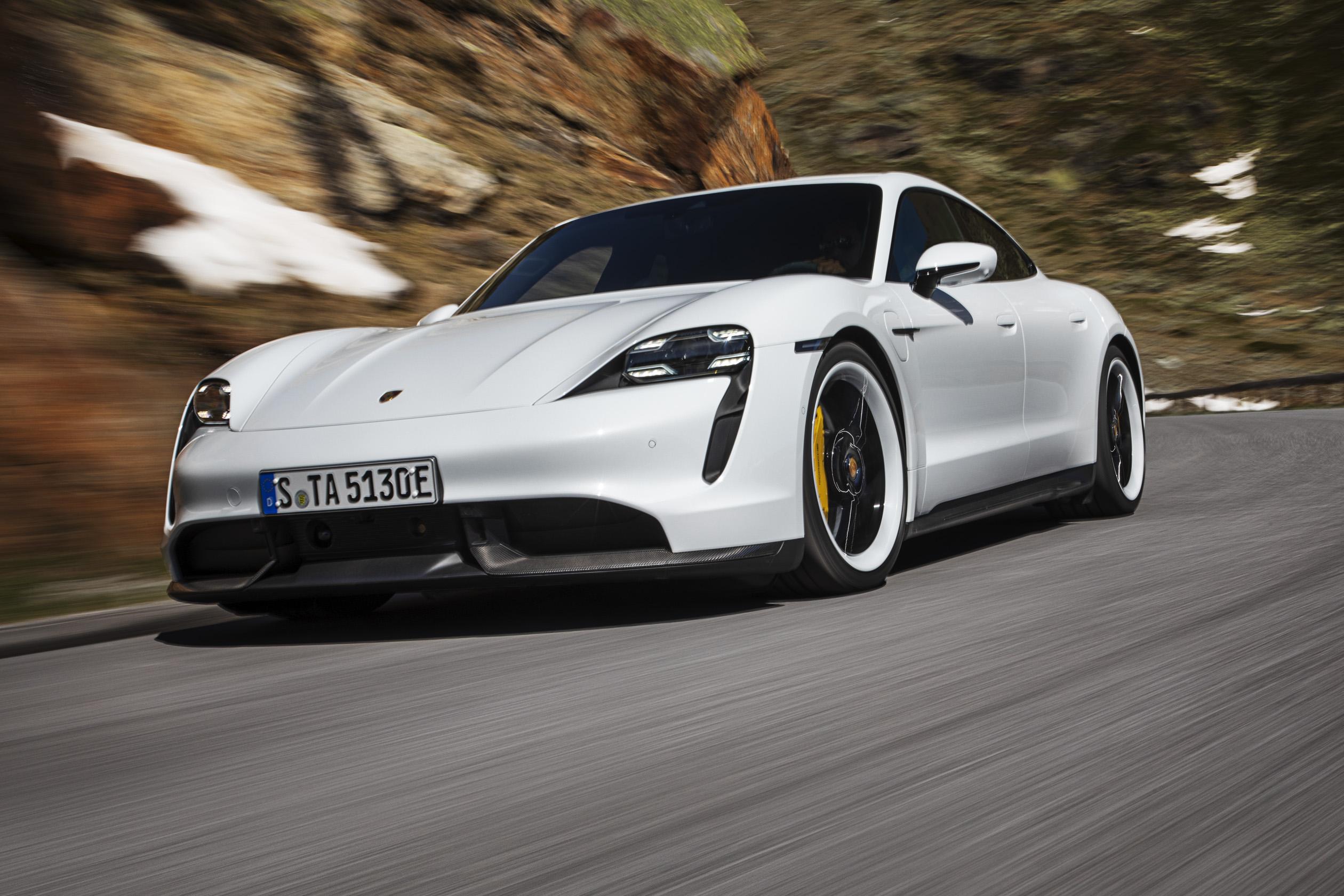 Porsche Taycan Tesla-killer