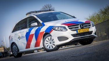 Politie elektrische auto's Nederland