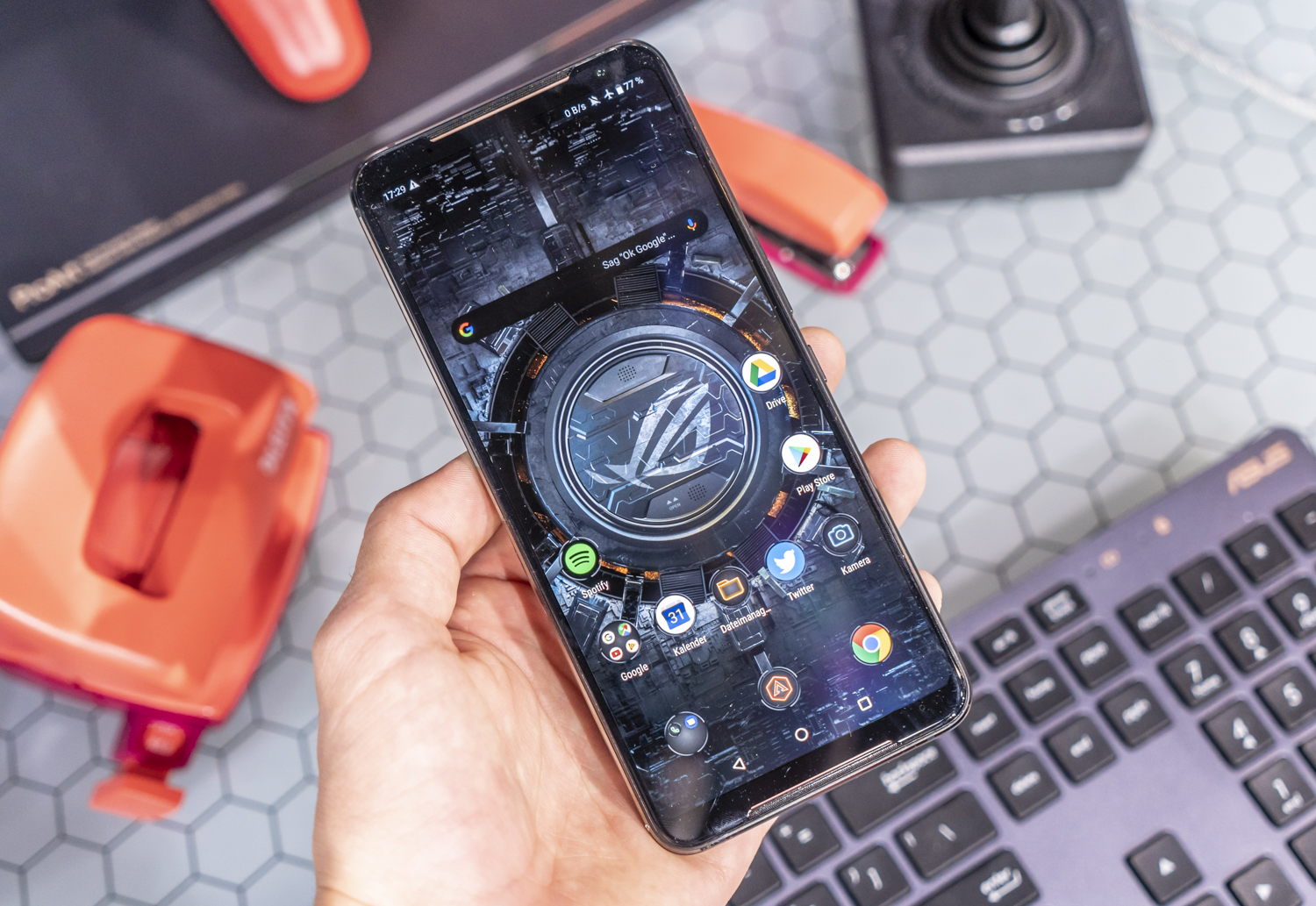 Asus ROG Phone II preview IFA display