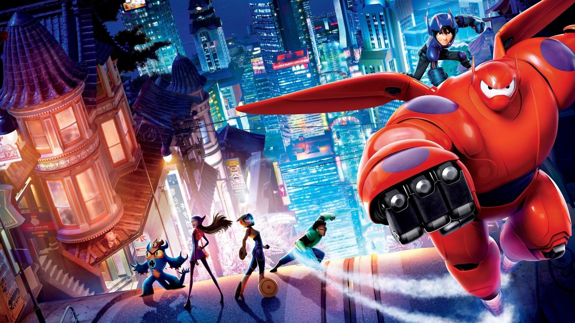 Comic films Big Hero 6