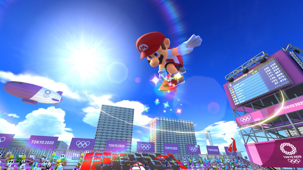 Mario & Sonic op de Olympische Spelen Tokio 2020