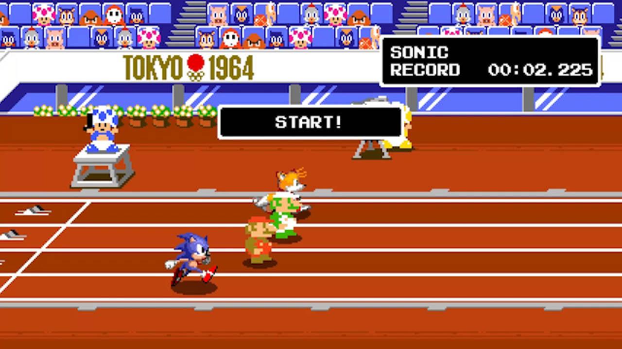 Mario & Sonic op de Olympische Spelen Tokyo 2020
