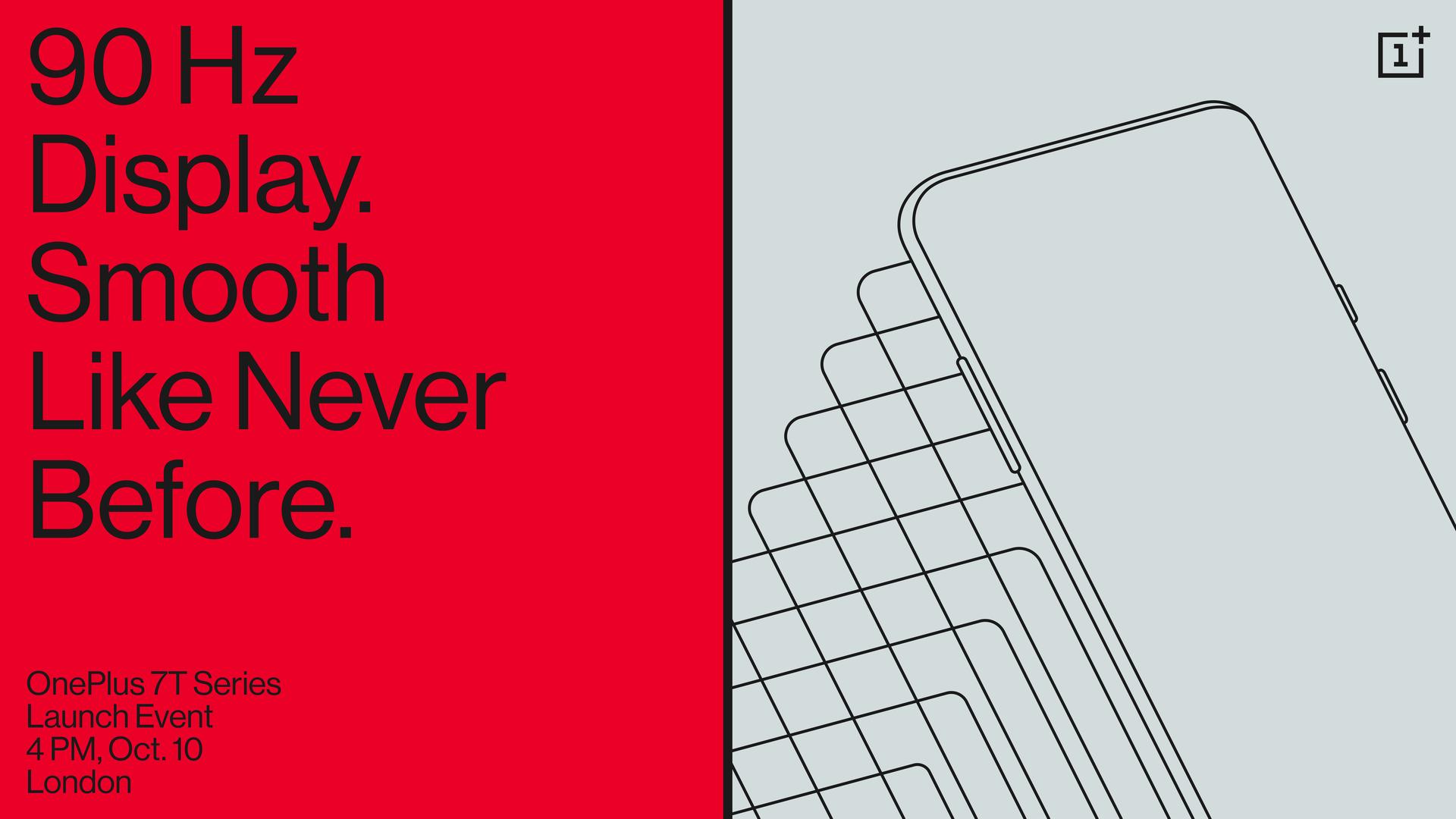 OnePlus 7T Pro lancering