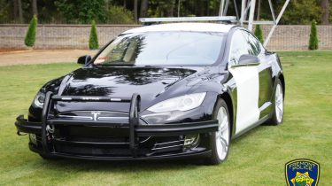 Politie Tesla