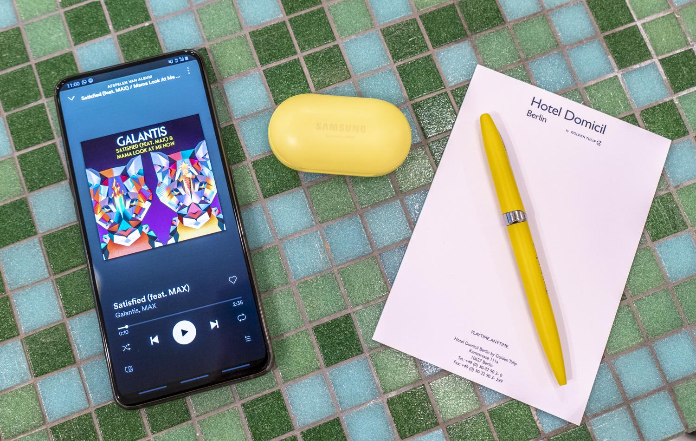 Samsung Galaxy Buds muziek