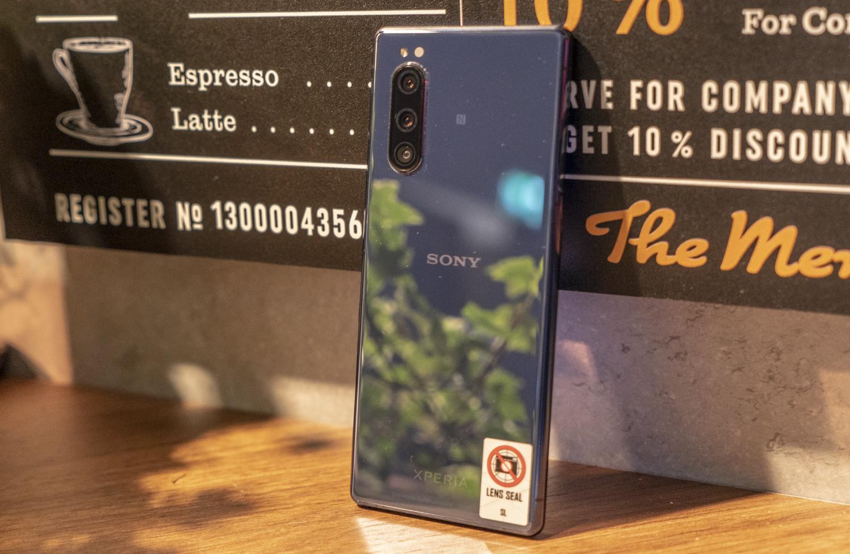 Sony Xperia 5 IFA achterkant