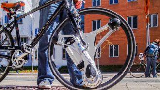 GeoOrbital Wheel elektrische fiets