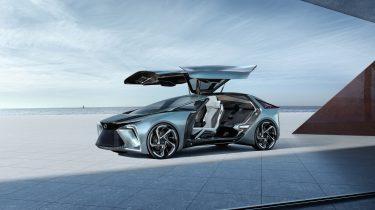 Lexus elektrische concept car